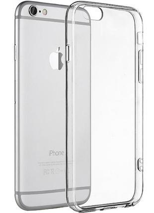 Силиконовый чехол ws apple iphone 6 / 6s (прозрачный)