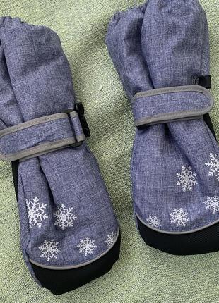 Краги рукавицы новые 3 года