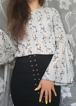 Очень красивая блуза !