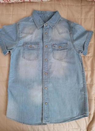 Стильна сорочка primark розмір 134