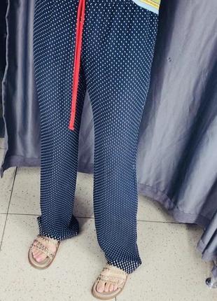 Gucci шелковые брюки оригинал