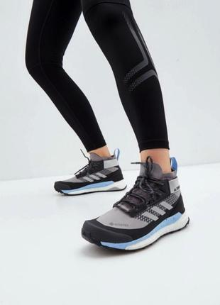 Кроссовки adidas terrex free hiker gore-tex р. 39,5 40 40,5 ботинки