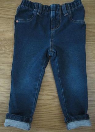 Джеггинсы на маленькую модницу 12-18 месяцев (86 см.) от denim&co