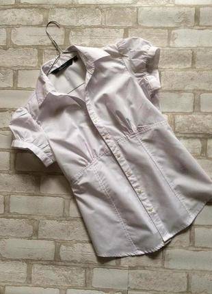 Новая белоснежная рубашка new look