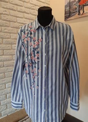 Крутая рубашка , блуза lc waikiki (оригинал). размер 46-48.