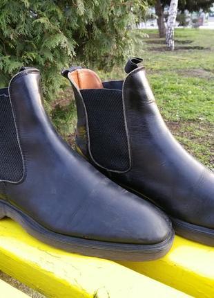 Мужские ботинки челси dr. martens kansas