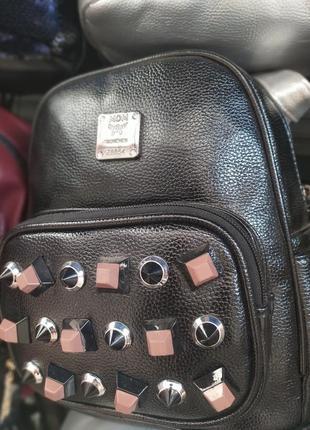Женский городской рюкзак из экокожи