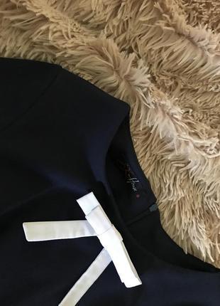Платье от sk глубокого синего цвета   с
