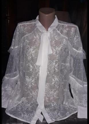 By very16 рр новая кружевная блуза