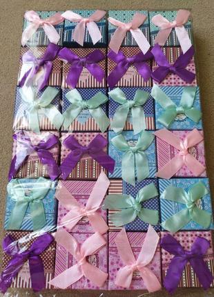 Подарочная упаковка коробочки под бижутерию