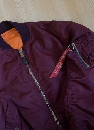 Alpha industries vintage ma-1 made in usa