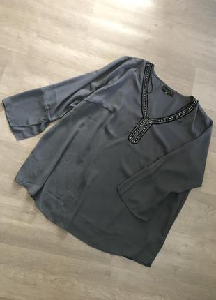 Красивая нарядная блуза bonprix , большой размер, батал