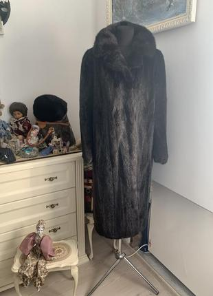 Шуба норка норковоє пальто pelz modele wagner mink