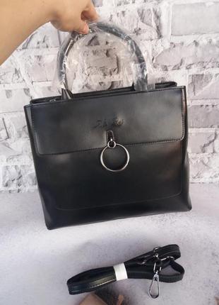 Женская большая сумка кожаная жіноча шкіряна