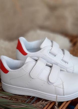 Крутые кроссовки на липучке