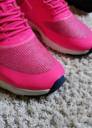Яркие летние кроссовки nike air max thea prm   pink оригинал