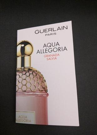 Guerlain  aqua allegoria granada salvia
