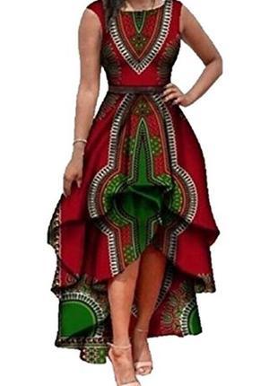 Роскошное платье в стиле бохо, этно