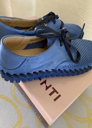 Мокасины, туфли, ботинки mia mianti натуральная кожа