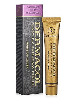 Тональный крем с маскирующим свойством dermacol make-up cover  тон 209
