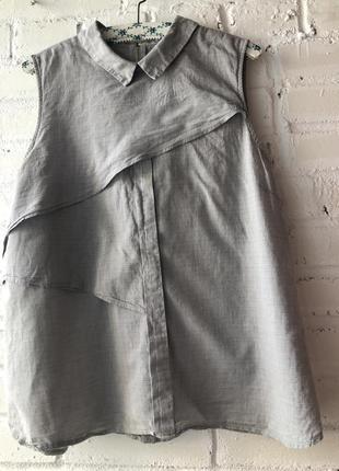 Легенька натуральна кофточка кофта блуза блузка великого розміру