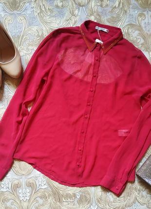 Блуза с открытой спиной. s-м р-р