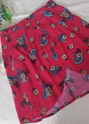 Шикарна квіткова юбка  xs/s  miss selfridge
