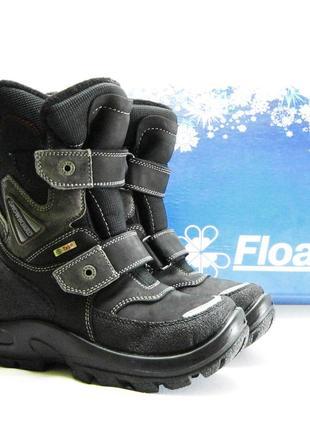 Термо-ботинки kapika - флоаре, шерсть, кожа, мембрана, р. 35-40