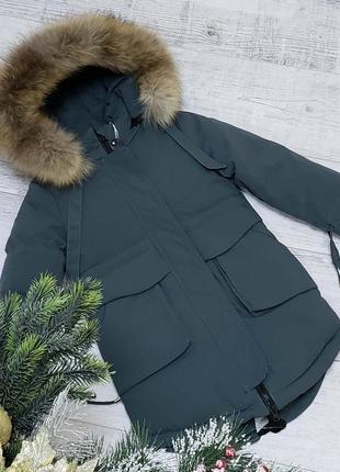 Зимняя куртка-парка