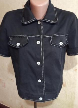 Короткий пиджачке с коротким рукавом