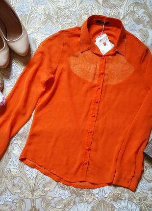 Блуза с открытой спиной. s-m р-р