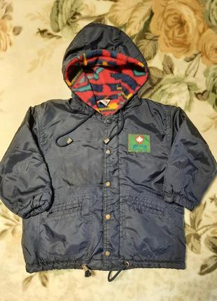 Демисезонная куртка на флисе (92)