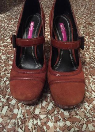 Кожаные туфли why denis, р. 37