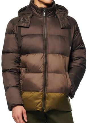 Marc new york by andrew marc мужской пуховик куртка оливковый l/xl