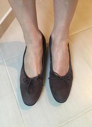Замшевые туфли petter kaiser