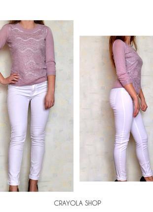 Белые джинсы  fishbone