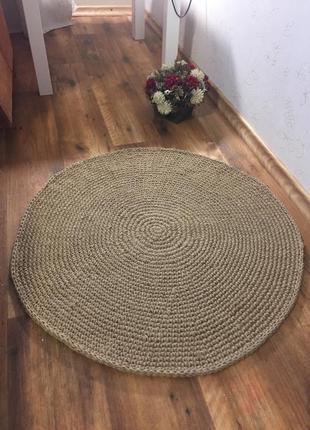 Круглый коврик