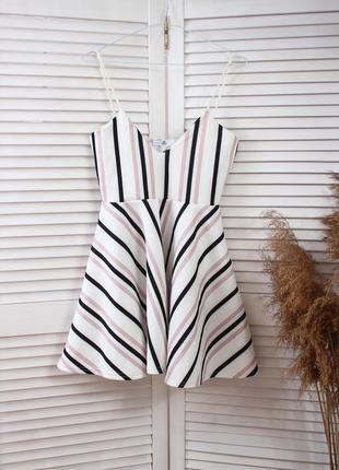 Платье в полоску missguided