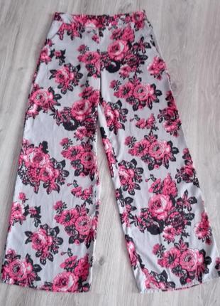 Штаны палаццо, кюлоты, широкі штани