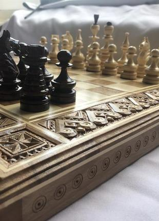 Шахмати,шашки, нарди, ручна робота