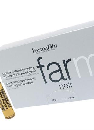 Farma vita noir line лосьон против выпадения волос в ампулах