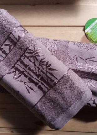 Набор бамбуковые полотенца. bamboo. бамбукові рушники.