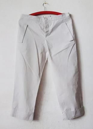 Зауженные укороченные брюки miu miu