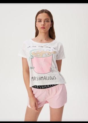 Пижама домашний комплект от бренда sinsay s классное качество