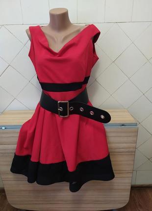 Шикарное платье  с удлиненной спинкой.батал.состояние нового