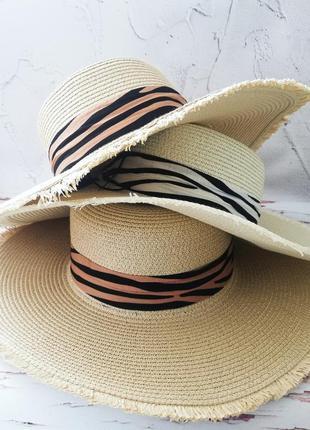 Капелюх на літо/ шляпа соломенная