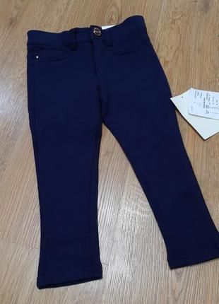 Темно-синие брюки mayoral на 92 рост