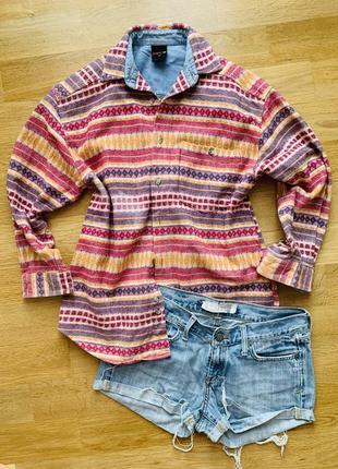 Яркая байковая рубашка gingers