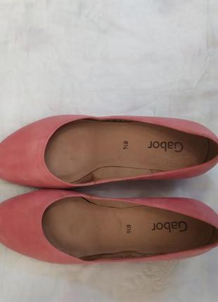Кожанные туфли gabor