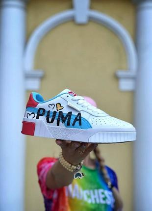 Кроссовки puma pure white rose gold valentine's day